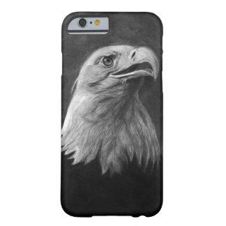Bald Eagle, Hand Drawn Graphite iPhone 6 Case