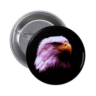 Bald Eagle Head Button