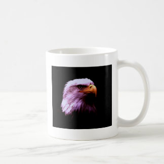 Bald Eagle Head Coffee Mug