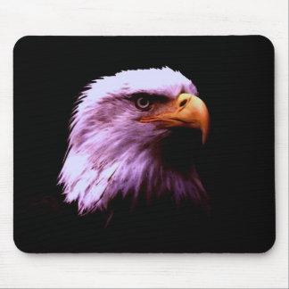 Bald Eagle Head Mouse Pad