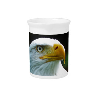 Bald Eagle Head Pitcher