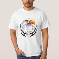 Bald Eagle Head Tattoo T-Shirt