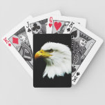 Bald Eagle Headshot Photo Card Decks