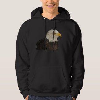Bald Eagle Hooded Pullover