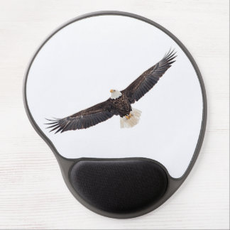 Bald Eagle in flight Gel Mousepads