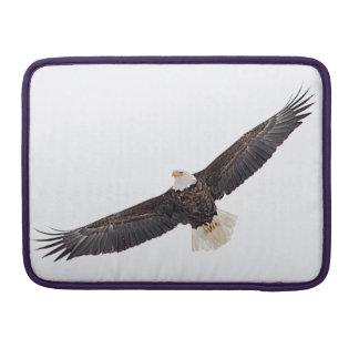 Bald Eagle in flight Sleeve For MacBook Pro