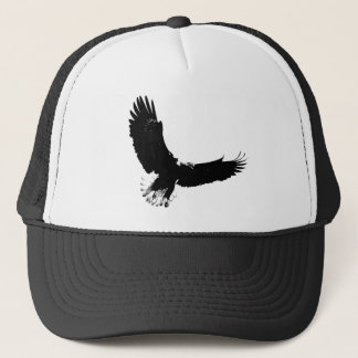Bald Eagle in Flight Trucker Hat