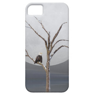 Bald Eagle in tree iPhone SE/5/5s Case