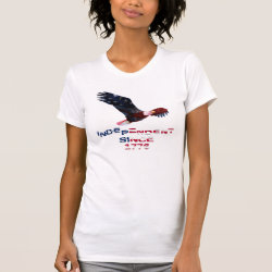 Bald Eagle Independence Day T-Shirt