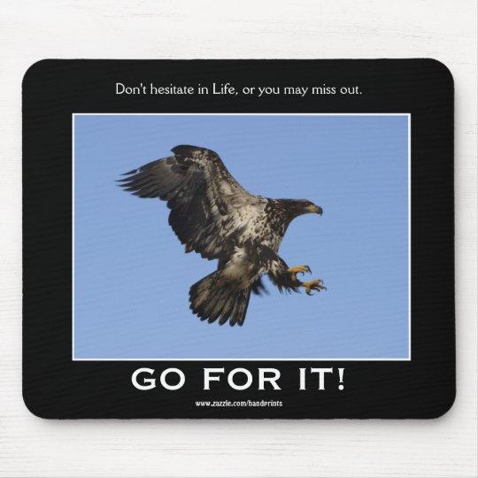 Bald Eagle Inspirational Mousepad