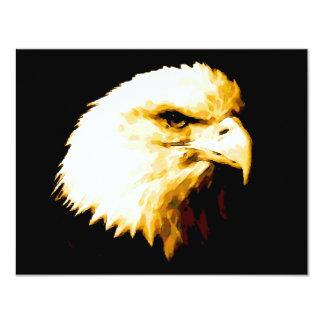 Bald Eagle 4.25x5.5 Paper Invitation Card