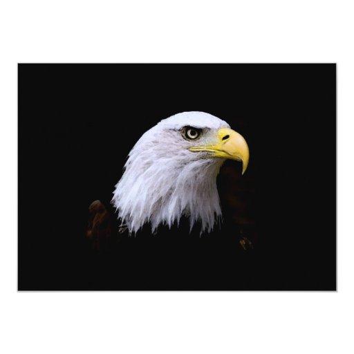 Bald Eagle Invitation