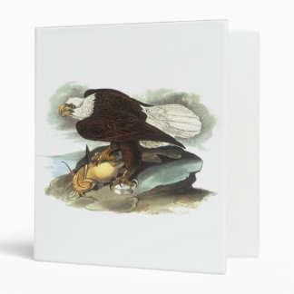 Bald Eagle, John Audubon 3 Ring Binder