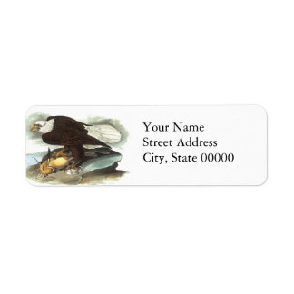 Bald Eagle, John Audubon Label
