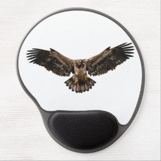 Bald eagle Juvenile coming in for a landing Gel Mouse Mat