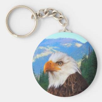 Bald Eagle Keychain