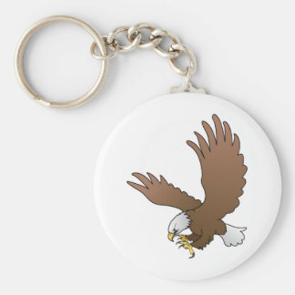 bald eagle key chain