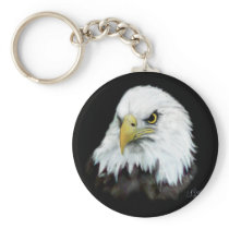 Bald Eagle Keychain 2