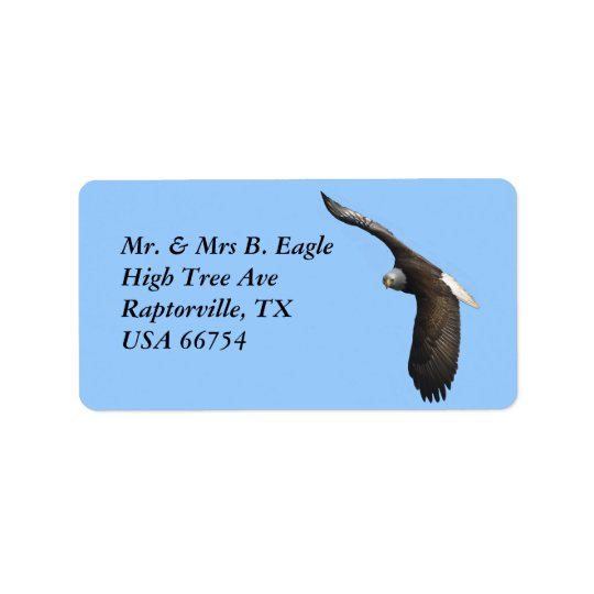 Bald Eagle Labels