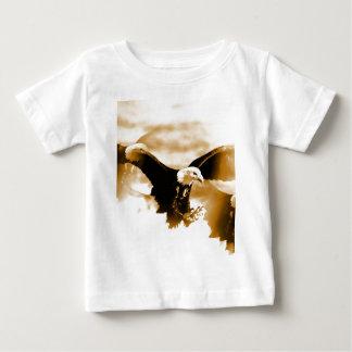Bald Eagle Landing Baby T-Shirt