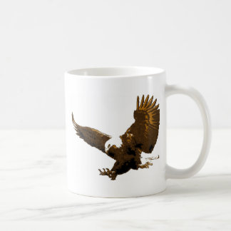 Bald Eagle Landing Coffee Mug