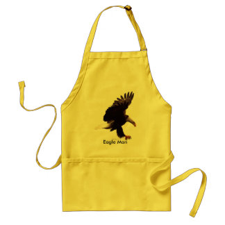 BALD EAGLE Landing Design Adult Apron