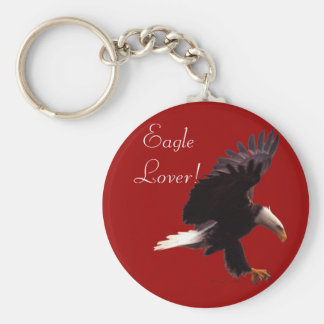 BALD EAGLE Landing Design Keychain
