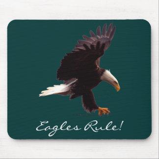 BALD EAGLE Landing Design Mouse Pad