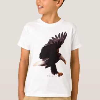BALD EAGLE Landing Design T-Shirt
