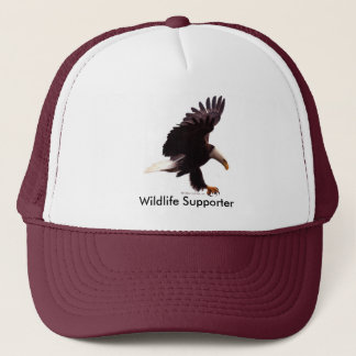 BALD EAGLE Landing Design Trucker Hat