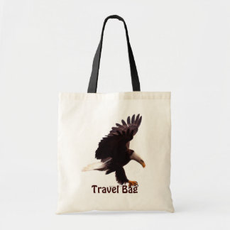 BALD EAGLE Landing Travel Tote Bag