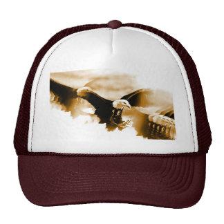 Bald Eagle Landing Trucker Hat