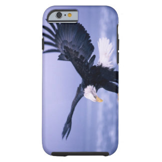 Bald Eagle Landing Wings Spread in a Storm, iPhone 6 Case