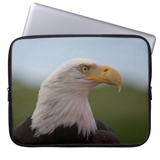Bald Eagle Laptop Computer Sleeve