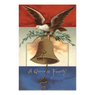 Bald Eagle Liberty Bell 4th of July Photo Print