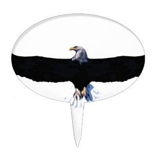 Bald eagle, modification cake toppers