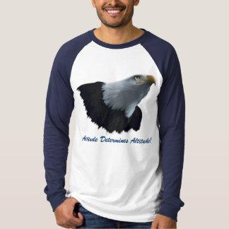 Bald Eagle Motivational Long-sleeved Shirt