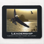 Bald Eagle Motivational Mousepad