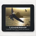 Bald Eagle Motivational Mouspad Mousepads