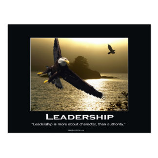 Bald Eagle Motivational Postcard
