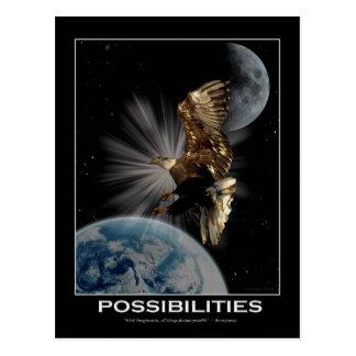 Bald Eagle Motivational Postcards
