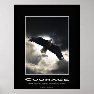 Bald Eagle Motivational Poster