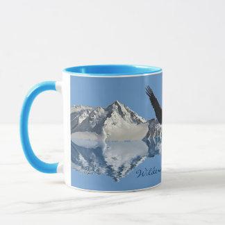 Bald Eagle & Mountains Flight Collection Drinkware Mug