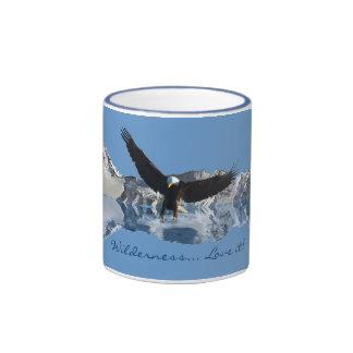 Bald Eagle Mountains Flight Collection Drinkware Coffee Mug