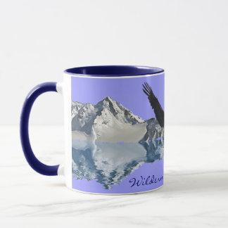Bald Eagle & Mountains Wildlife Tea or Coffee Cup