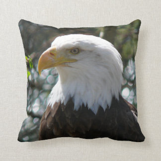 Bald Eagle - National Bird Of The United States Throw Pillow