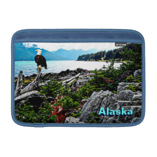 Bald Eagle On Alaska Coast MacBook Sleeve