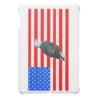 Bald Eagle On American Flag iPad Mini Case
