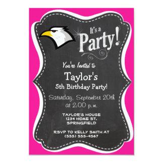 Bald Eagle on Hot Pink Card