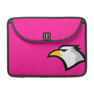 Bald Eagle on Hot Pink Sleeve For MacBooks